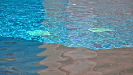 Water Ripple over swimming pool