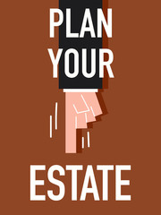 Word PLAN YOUR ESTATE