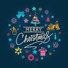 Christmas Card and Christmas Elements - Set 5