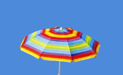 Sunny umbrella.