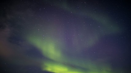Northern Lights in the Arctic sky