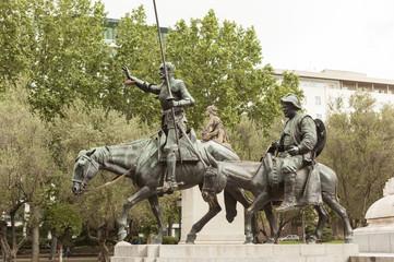 Дон Кихот и Санчо Панса. Мадрид