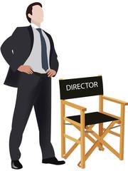 sedia da direttore