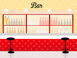 illustration of bar