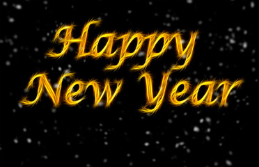 background happy New Year