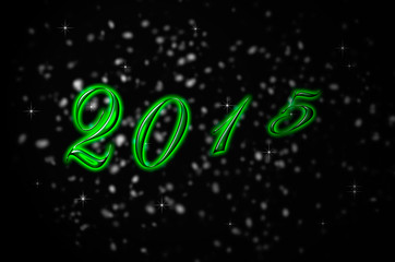 background New year 2015