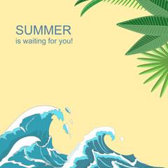 Summer poster.