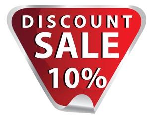discount sale stickers vector