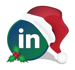 Social media christmas icons