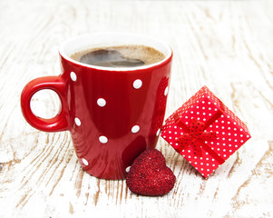 Coffee and gift