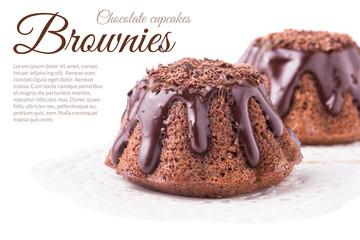 Chocolate Brownies Muffins