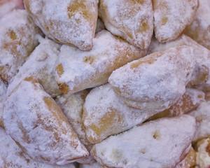 skaltsounia, greek Christmas sweet pies, jam filled