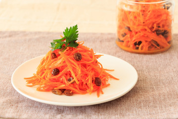 Carrot rapees : French styled carrot salad