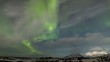 Northern Lights in the Arctic, Spitsbergen - TIMELAPSE