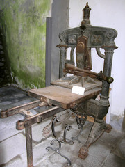 Ancient italian printing press