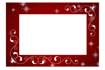 Red frame for message