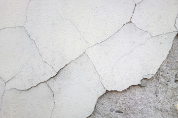 Old cracked wall