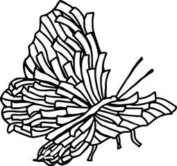 butterfly ribbon