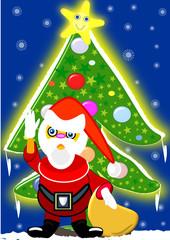 Saludando la Navidad