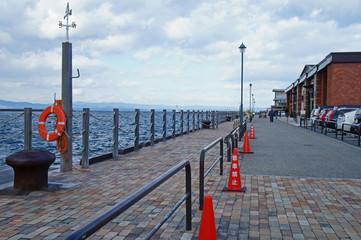 西大分港の風景
