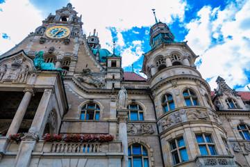 Malerisches  Rathaus in Hannover