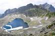 Mountains and Lake High Tatras, Slovakia, Europe