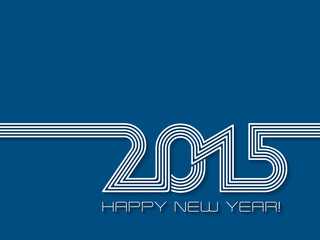 Creative Happy New Year background for 2015