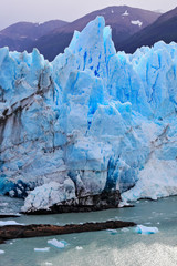 The ice massif