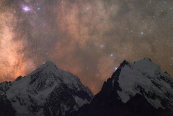Milky Way over the Caucasus