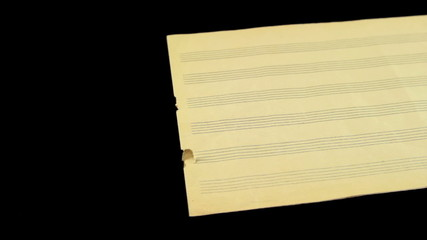 music paper tracking