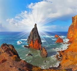 Arid  tip of Madeira