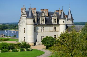 Chateau de Amboise medieval castle France Europe