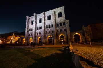 Teatro Romano, Aosta, Valle d'Aosta, Italia