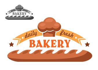 Bakery shop emblem or logo