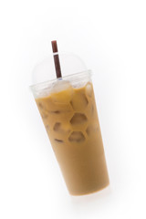 Iced coffee cup