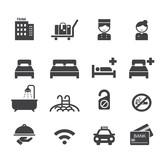 hotel icon - 74671636