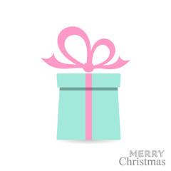 Christmas gift box card