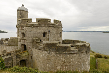 St. Mawes castle, Cornwall
