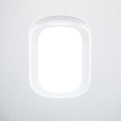 Porthole of the airplane