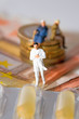 Leinwanddruck Bild Senioren, Kosten, Medikamente
