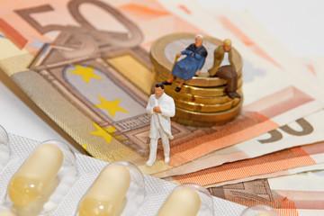Senioren, Kosten, Medikamente