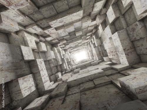 deep tunnel © numax3d