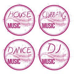 4 stamps electro music
