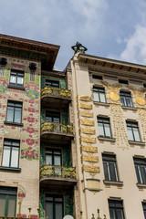 Österreich, Wien, Wienzeilenhäuser