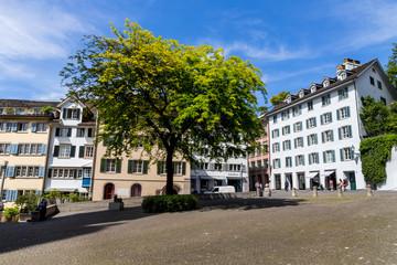 Schweiz, Zürich, Münsterplatz