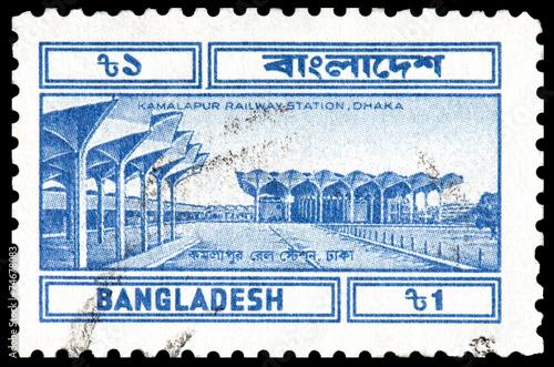 Poster Treinstation Kamalapur Railway Station