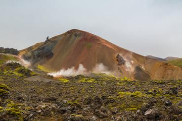 Relief volcanique d'Islande