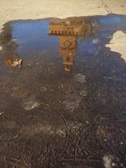 castello sforzesco riflesso nell'acqua