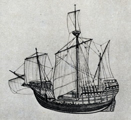 Santa María - ship, used by Christopher Columbus
