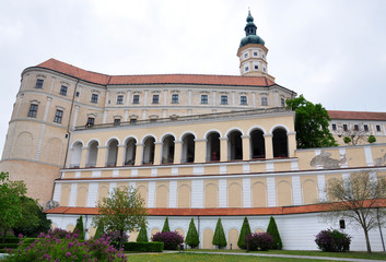 Castle Mikulov, Moravia, Czech Republic, Europe